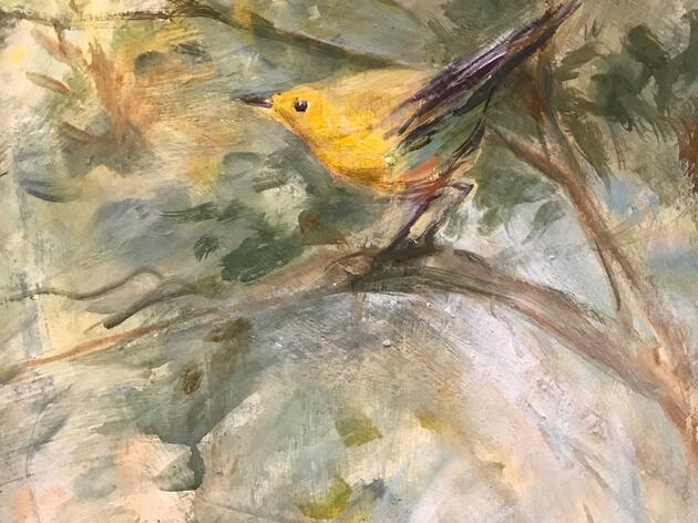 Ruth Kimbrough, Moss Point painter, now showing in the Fine Art Gallery